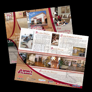 Aaron's Floors Brochure