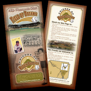 Warren Baseball Park brochure