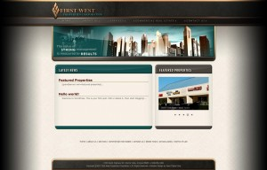 First West Properties Corporation website